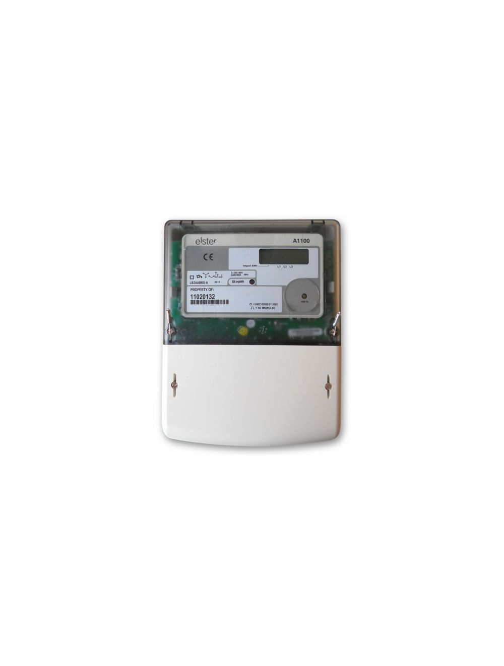 ELSTER A1100 DC THREE PHASE KWH 100A ELECTRICITY METER MID OFGEM APPROVED