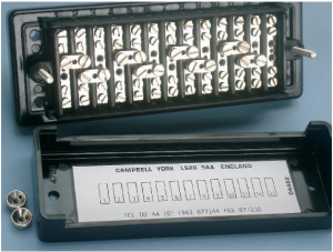 Test Terminal Block 22980 Back Connected