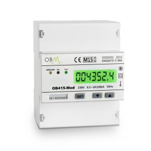 OB415-Mod Single Phase 100A MID Modbus Meter