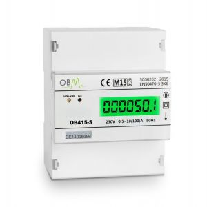 OB415-S  100 AMP Single Phase Electric Meter. MID Certified